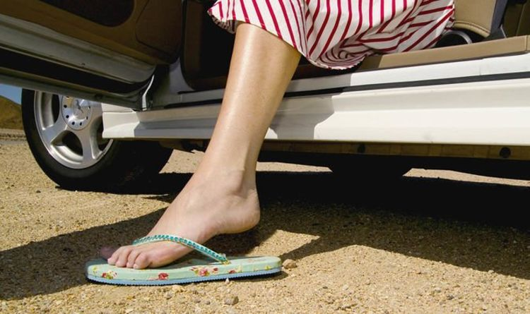 The types of shoes which could land you a hefty fine when driving revealed
