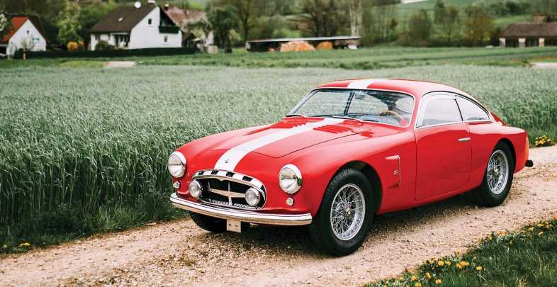 The Maserati A6G/2000 Berlinetta Zagato Was Both Fast and Beautiful
