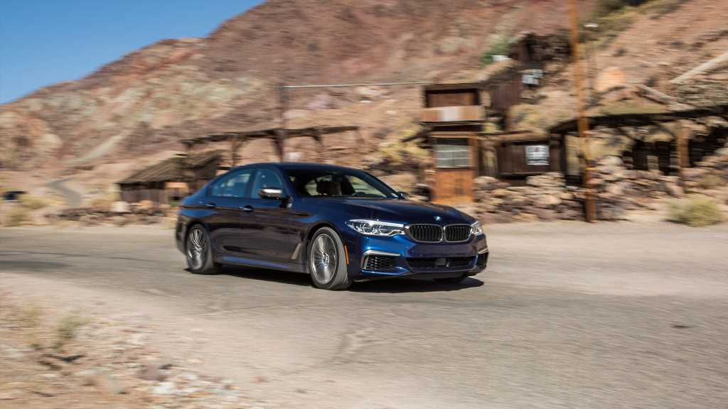 From L.A. to Vegas, the Long Way, in a BMW M550i