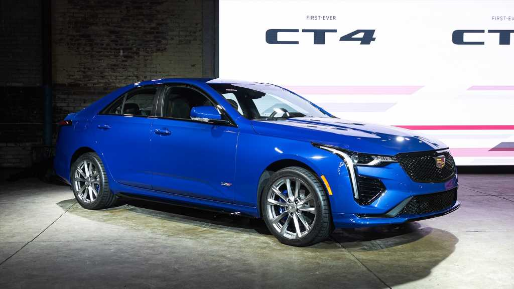 Meet the Cadillac CT4-V—Our First Look at Caddy's Smaller Sedan