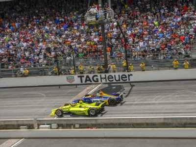 Alexander Rossi: Indy 500 defeat to Simon Pagenaud was inevitable