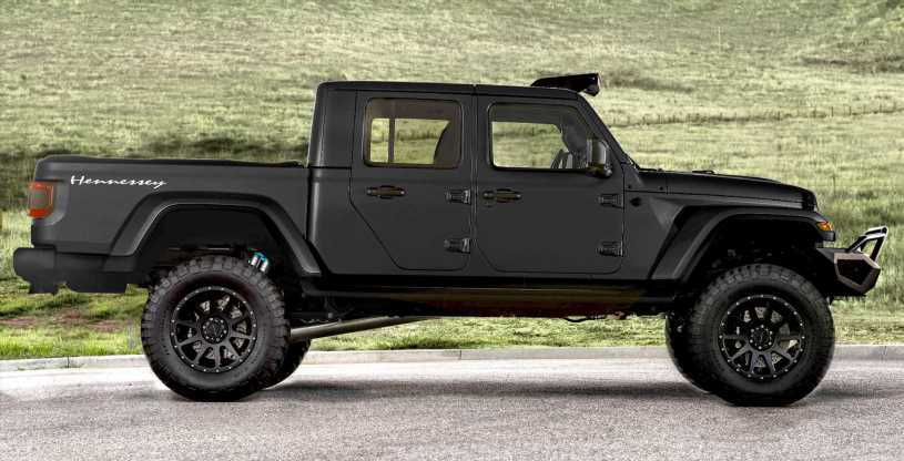 The Hennessey Maximus Is a $200K, 1,000-HP Hellcat-Packing Jeep Gladiator