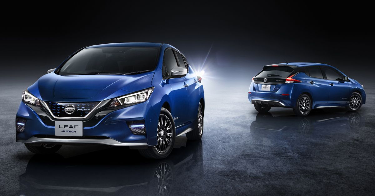 Nissan Leaf Autech debuts with styling enhancements