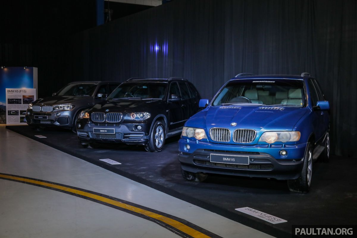 GALLERY: BMW X5 through the years – E53 to G05