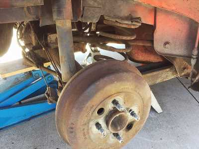 Project TR7 part 5: Suspension surgery begins