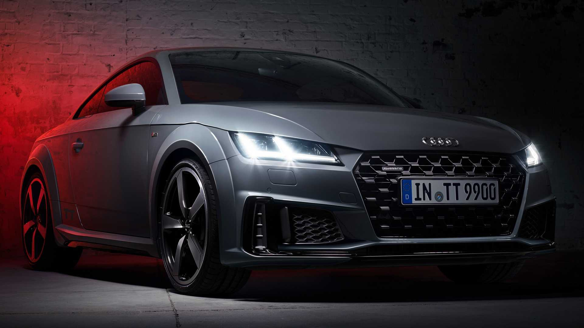 Audi Reveals TT Quantum Gray Edition, But You Can Only Buy One Online