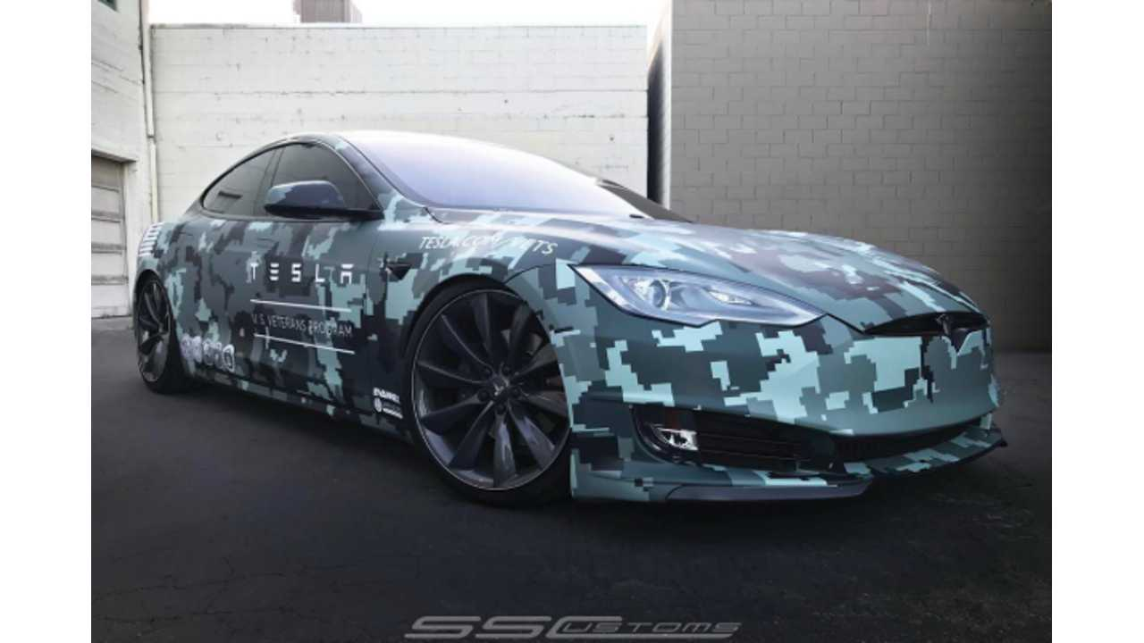 Tesla Pays Homage To Our Fallen Heroes On Memorial Day