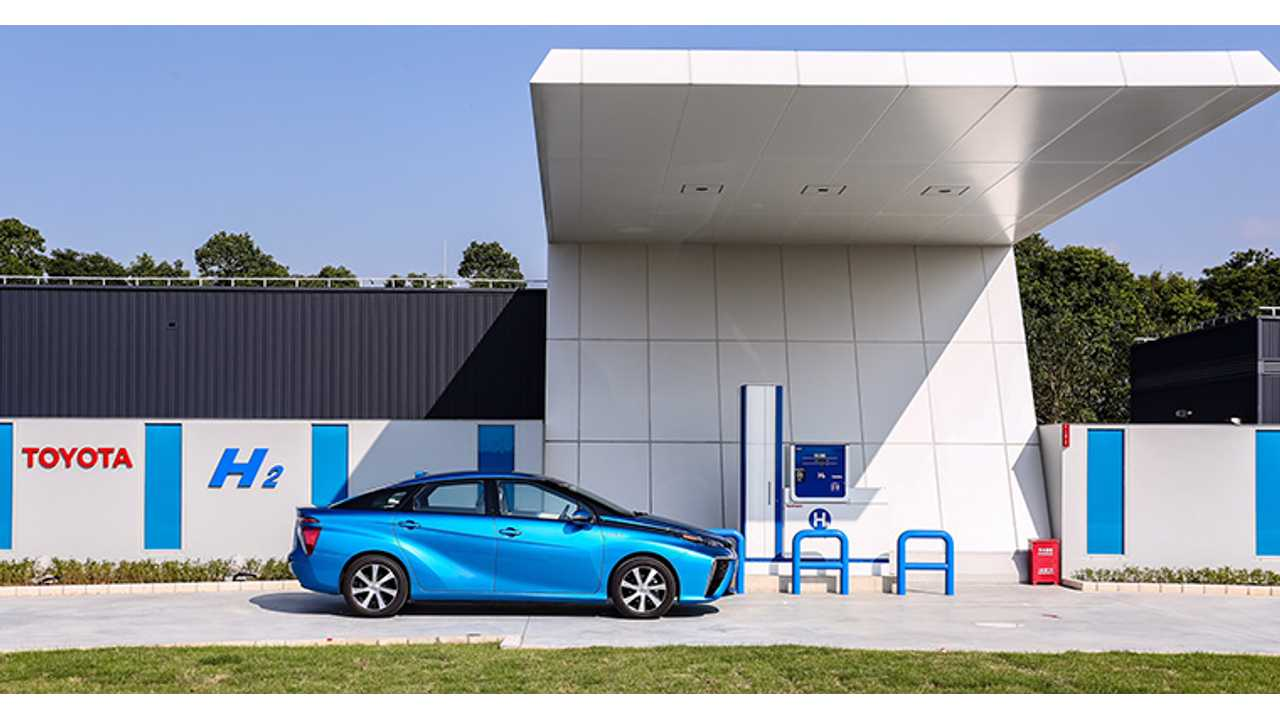 Toyota Believes Fuel Cell Prices Will Match Hybrids