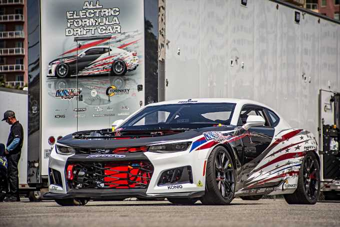This Electric Chevrolet Camaro EL1 is the Coolest EV Drift Car You\u0027ve Ever Seen