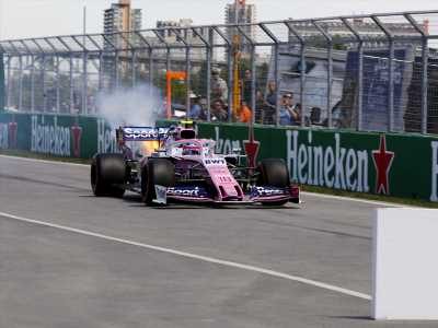 For second consecutive race, Racing Point F1 team suffers double qualifying failure