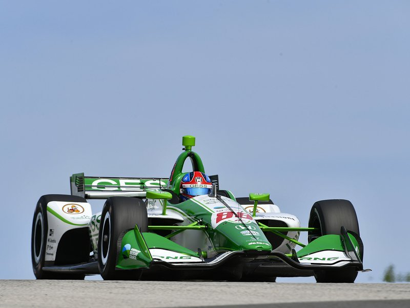 IndyCar Road America qualifying results: Colton Herta makes history