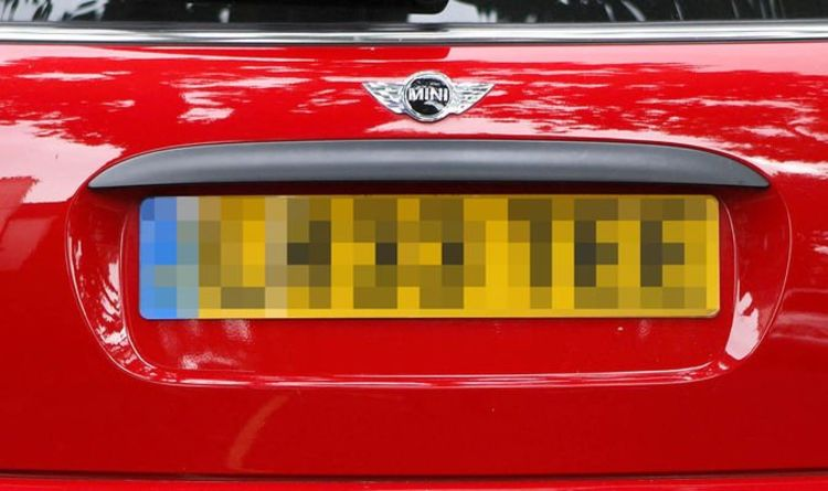 DVLA Number plate rules – How to display a registration and avoid a fine