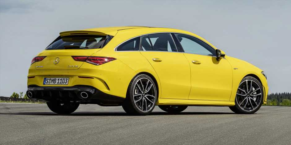The 2020 Mercedes-AMG CLA35 Shooting Brake Is a Practical 302-HP Rocket Ship