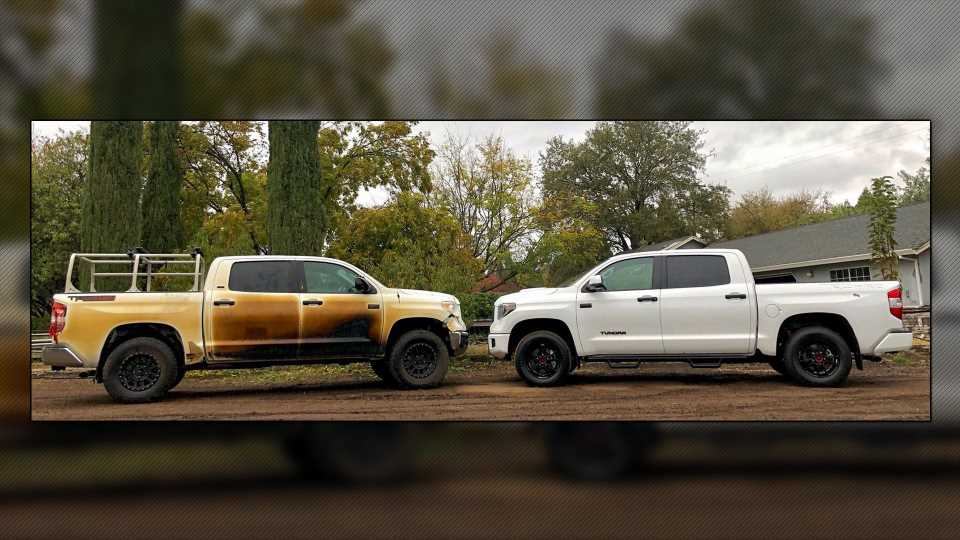 Toyota Honors Its Word, Delivers New Tundra to Hero Who Sacrificed Truck in California Wildfires