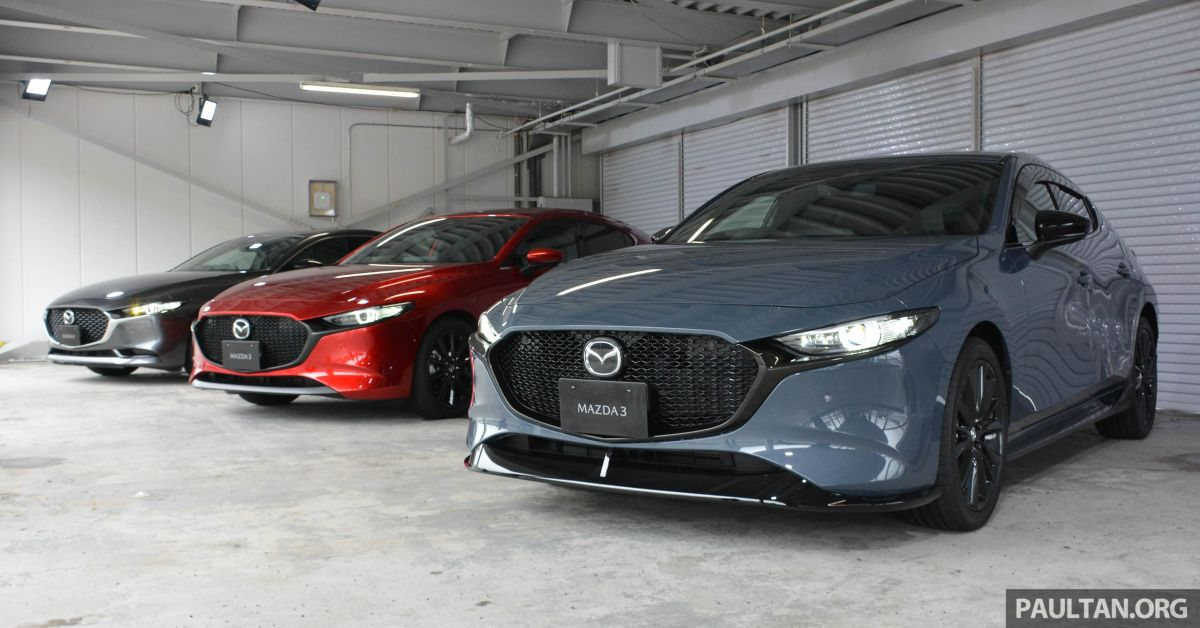 GALLERY: 2019 Mazda 3 – hatchback, sedan in Japan