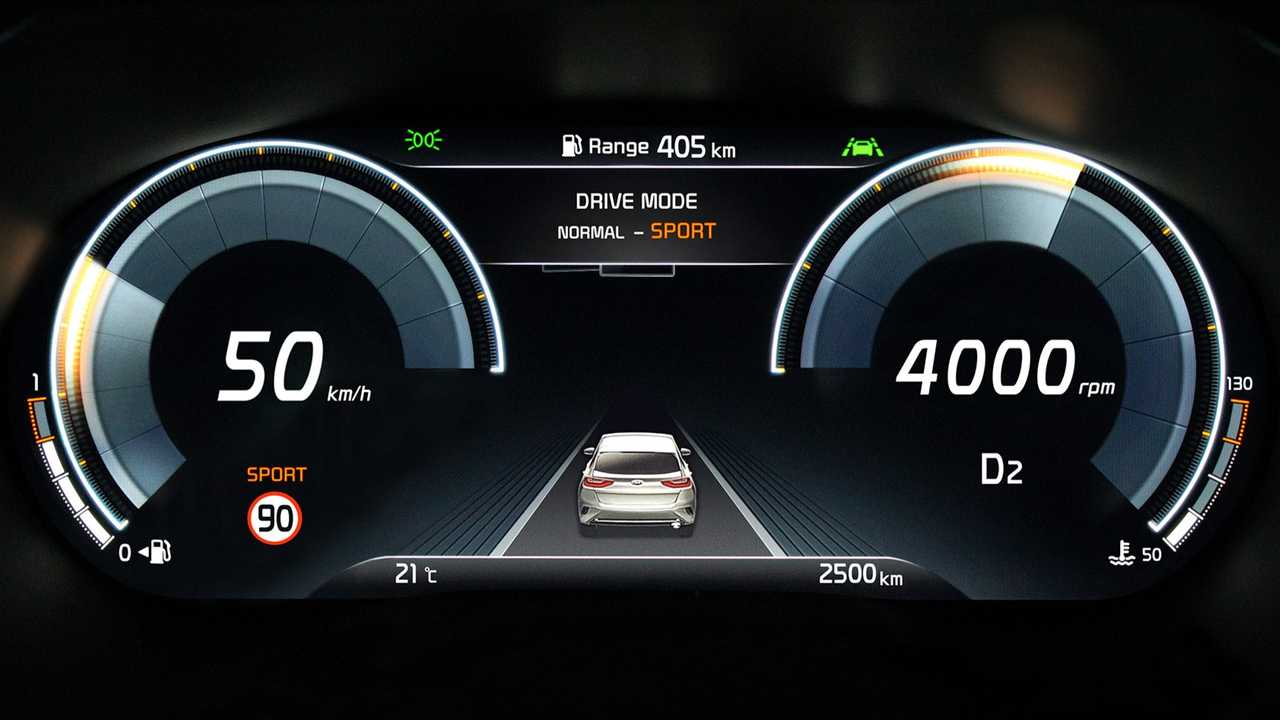 2020 Kia XCeed Teased With Fully Digital Instrument Cluster