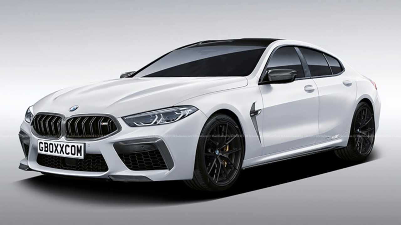 2021 BMW M8 Gran Coupe Rendered As The AMG GT63 S Fighter