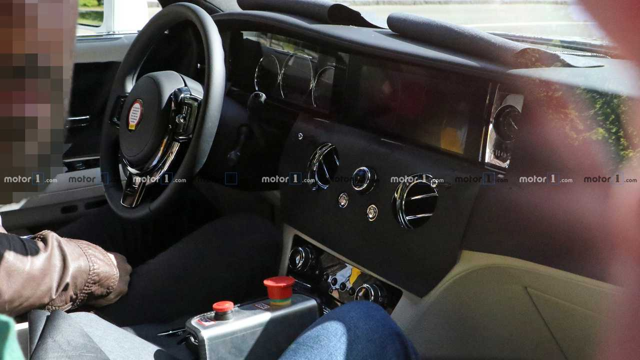 2021 Rolls-Royce Ghost Spied Inside And Out