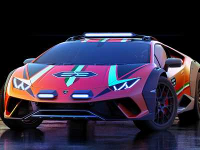 Lamborghini might build this off-road, partially 3D-printed, Huracan Sterrato
