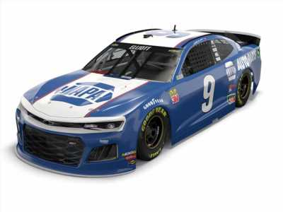 Chase Elliott to run 'awesome' NASCAR paint scheme in Southern 500