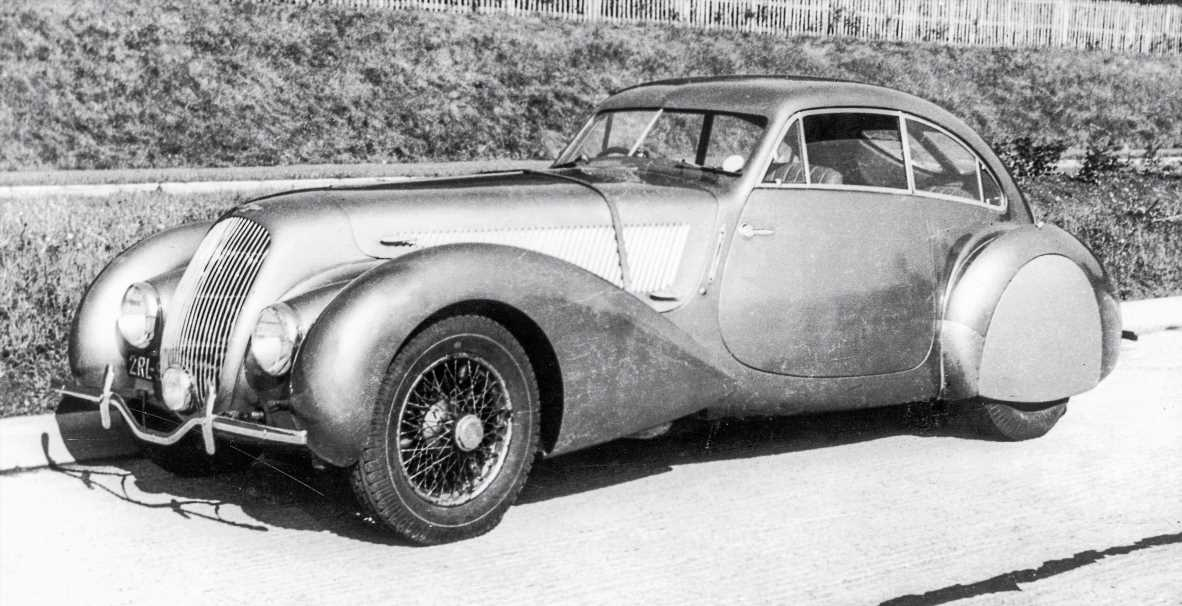 """The 1938 4¼ Litre """"Embiricos"""" Coupe Was the First Beautiful Bentley"""