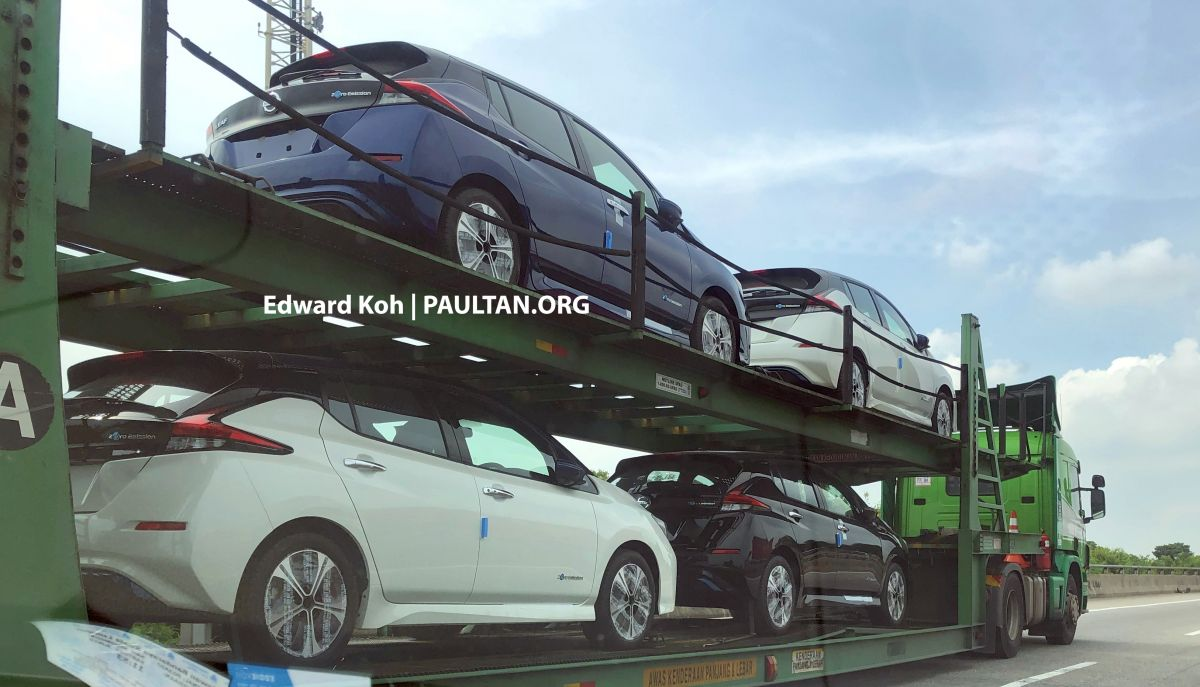 SPIED: 2019 Nissan Leaf on transporters in Malaysia