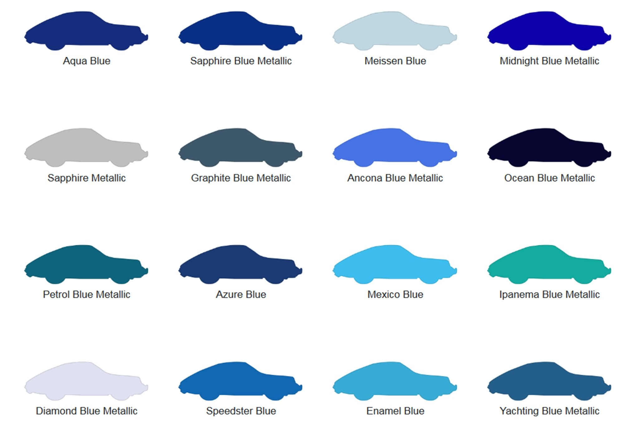 This Porsche Paint-Color Database Is How to Be Perfectly Unproductive