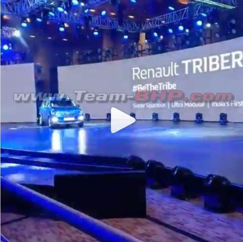 Renault Triber leaked ahead of launch