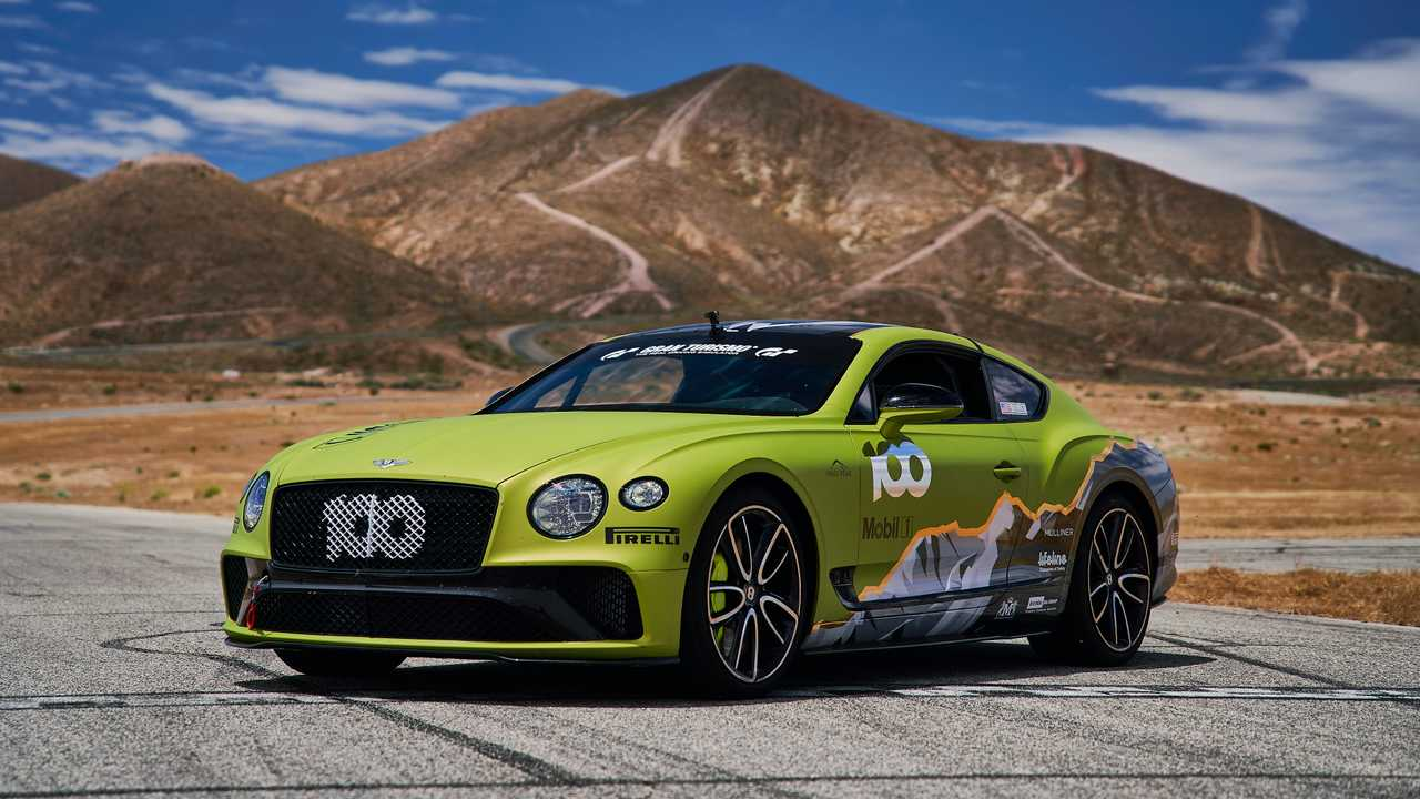 This Is The Car Bentley Wants To Break Records On Pikes Peak With
