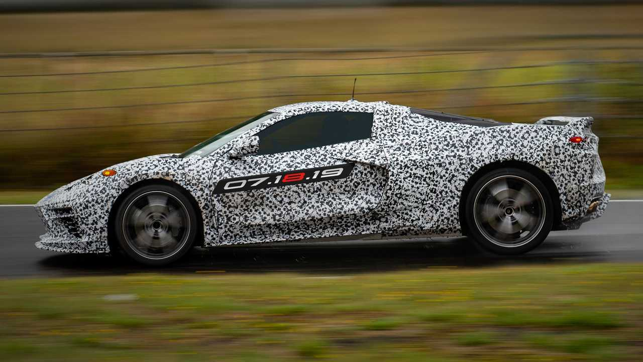 Mid-Engined Corvette Debut Tickets Up For Auction, Already At $5k