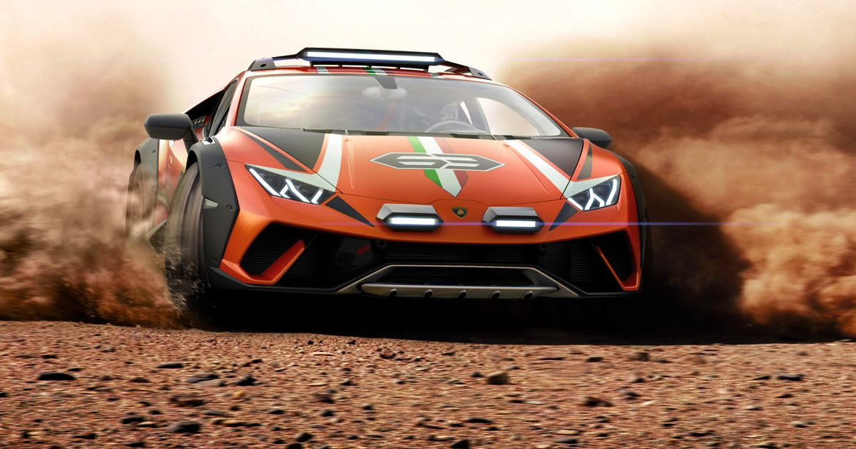 The Lamborghini Huracán Sterrato Is The Off-Road Supercar Of Your Dreams