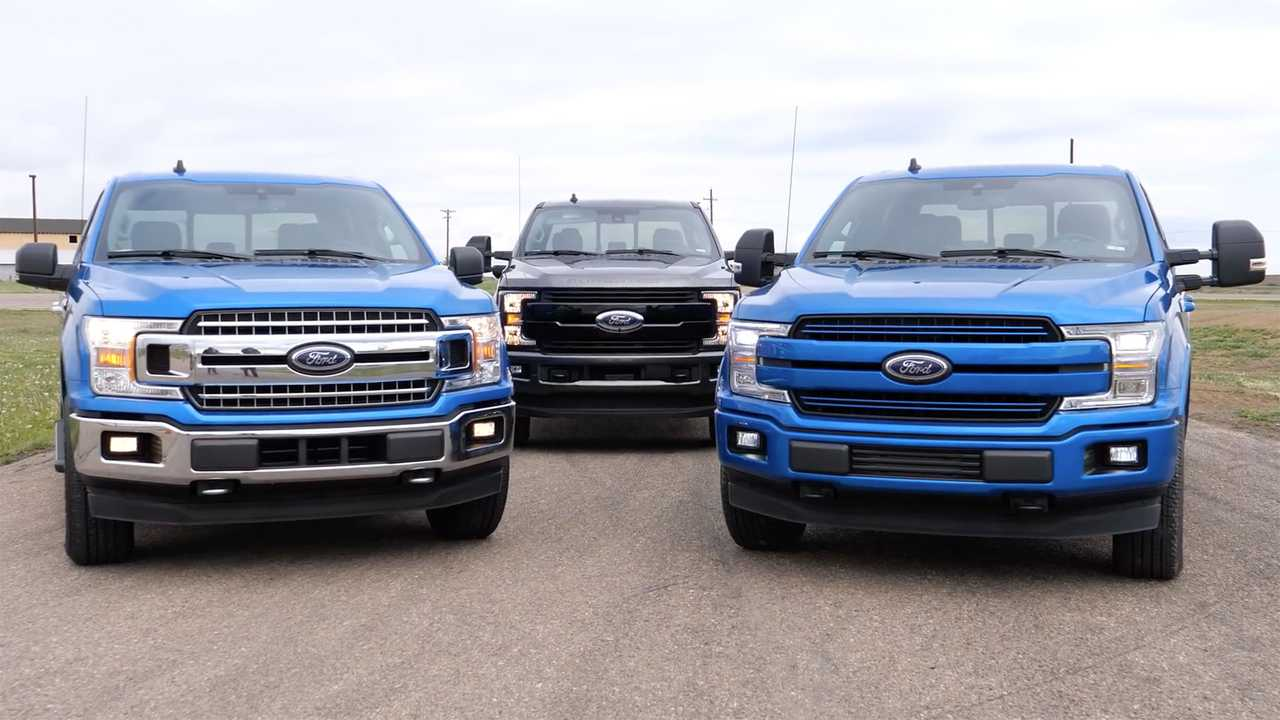 Watch A Ford F-150 2.7L V6 Drag Race A F-150 5.0L V8, F-250 6.7L V8