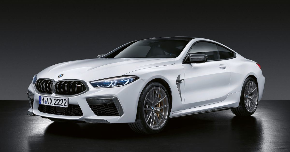 Here's The New BMW M8 Festooned With M Performance Parts