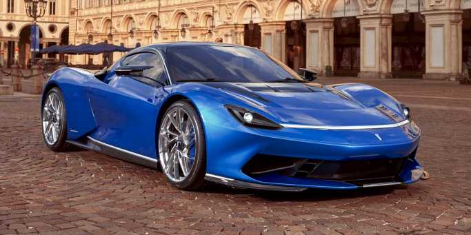 Pininfarina's 1900-HP EV Hypercar Gets a Facelift Before It Even Goes on Sale