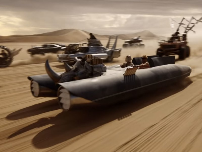 What in tarnation is happening in this Mad Max-inspired fragrance commercial?