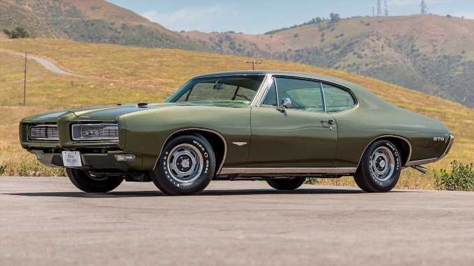 Ultimate Car of the Year Finalist: 1968 Pontiac GTO