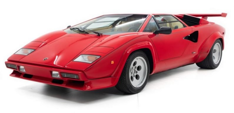 Find of the Day: Mario Andretti's Countach