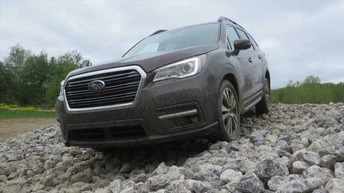 We Take Our 2019 Subaru Ascent Off-Roading: Here\u2019s How It Does