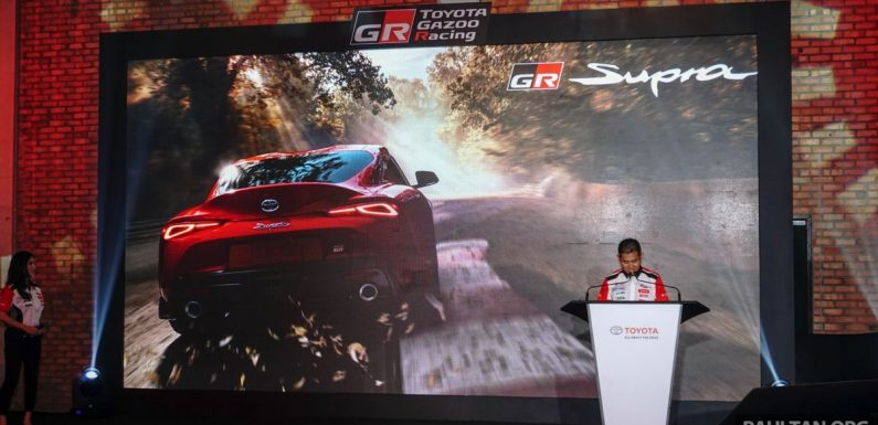 A90 Toyota GR Supra – Malaysian launch in September