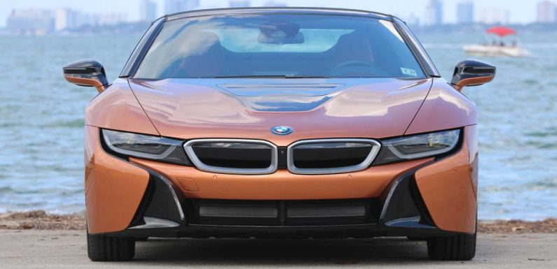 Alpina Once Made A Four-Cylinder i8 With 460 Horsepower