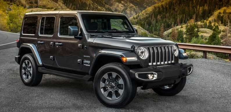Jeep Wrangler Black & Tan Edition Reportedly Part Of MY2020 Updates