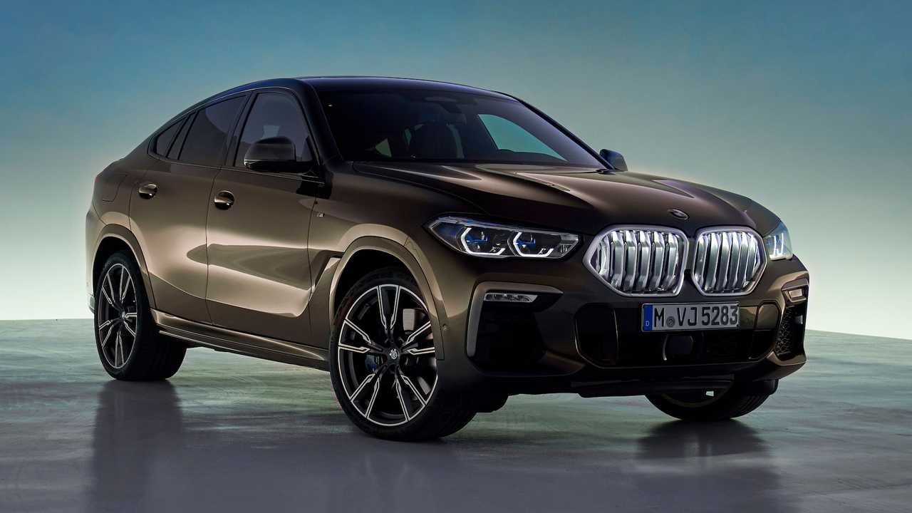 2020 BMW X6 Debuts With 523-HP Twin-Turbo V8, Light-Up Grille