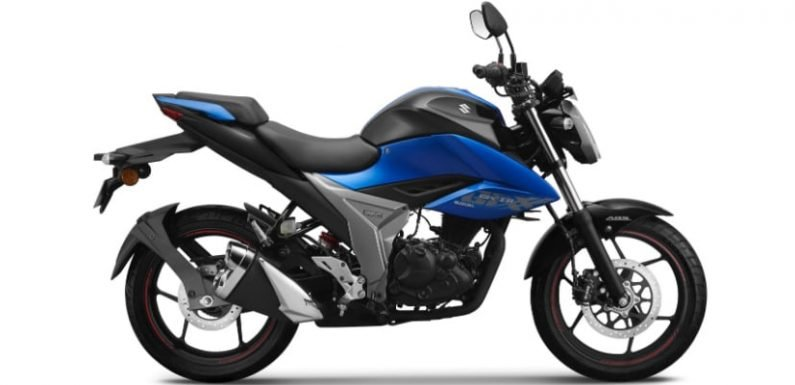 2019 Suzuki Gixxer Launched In India; Priced At Rs. 1 Lakh
