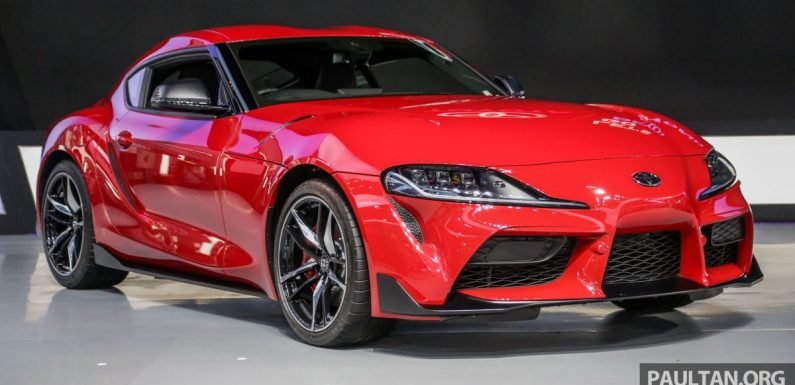 GIIAS 2019: A90 Toyota Supra launched in Indonesia – top 3.0L inline-six turbo, priced close to RM600k