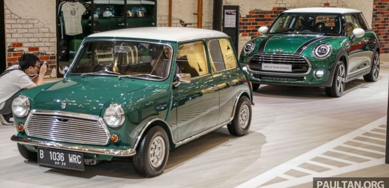 GIIAS 2019: MINI Cooper 60 Years Edition – limited units coming to Malaysia next month as a Cooper S