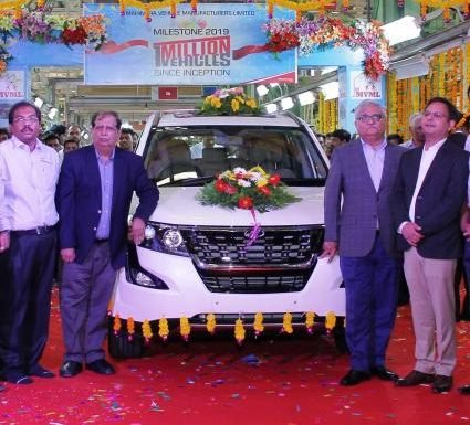 Mahindra rolls out 1 millionth car from each of its 3 plants