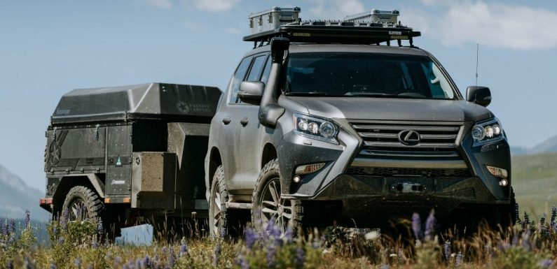 Lexus GXOR Concept debuts – rugged and luxurious