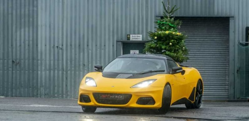 Lotus Wishes You a Merry Driftmas by Giving a Smoke-Filled Tour of Its HQ