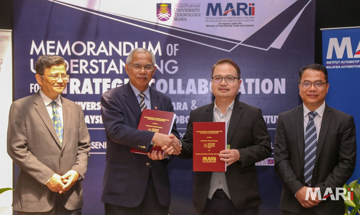 MARii and UiTM to collaborate on R&D, talent network