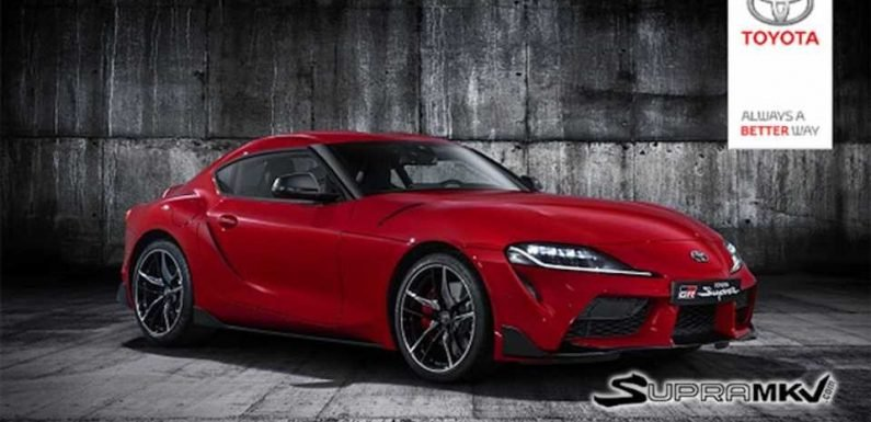 2020 Toyota Supra Images Leaked Courtesy of an Official Company Email